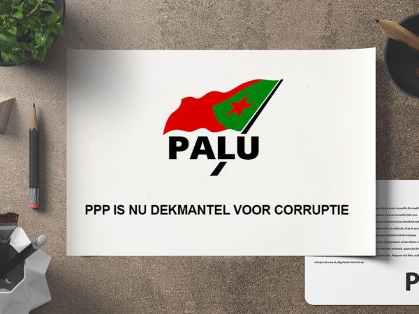 PPP is nu dekmantel voor corruptie